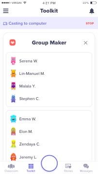 Random Group Generator App - Partner Pairing for the Classroom