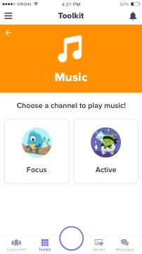 Classroom Music App & Playlist - Software for Playing